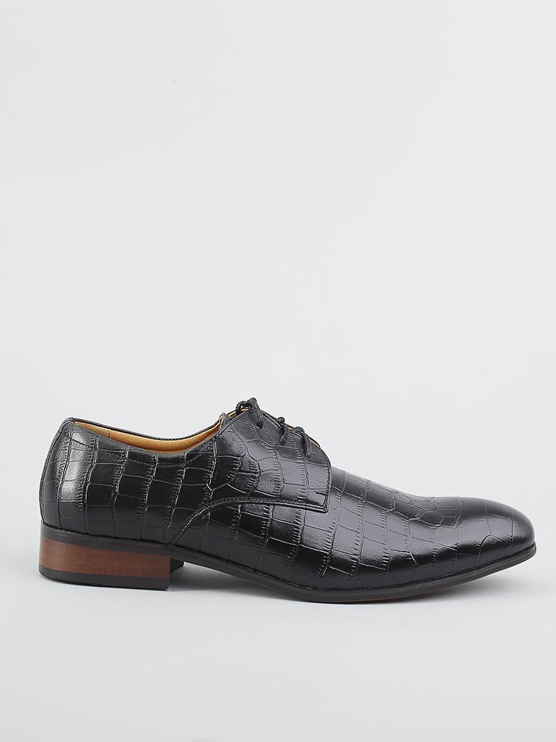 Giày tây da đen g93 - 1