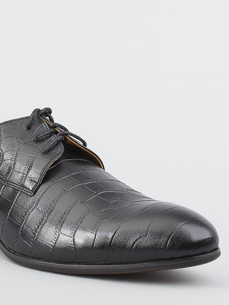 Giày tây da đen g93 - 3