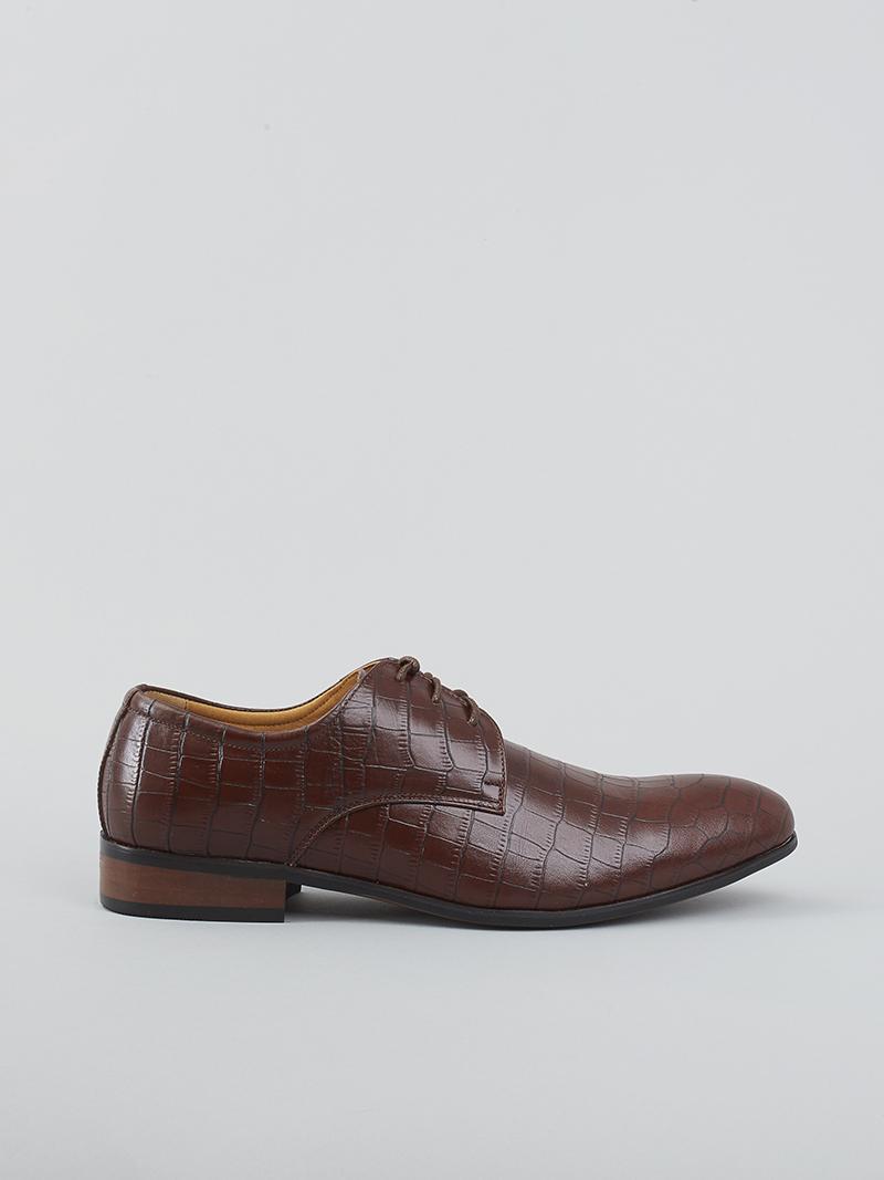 Giày tây da nâu g93 - 1