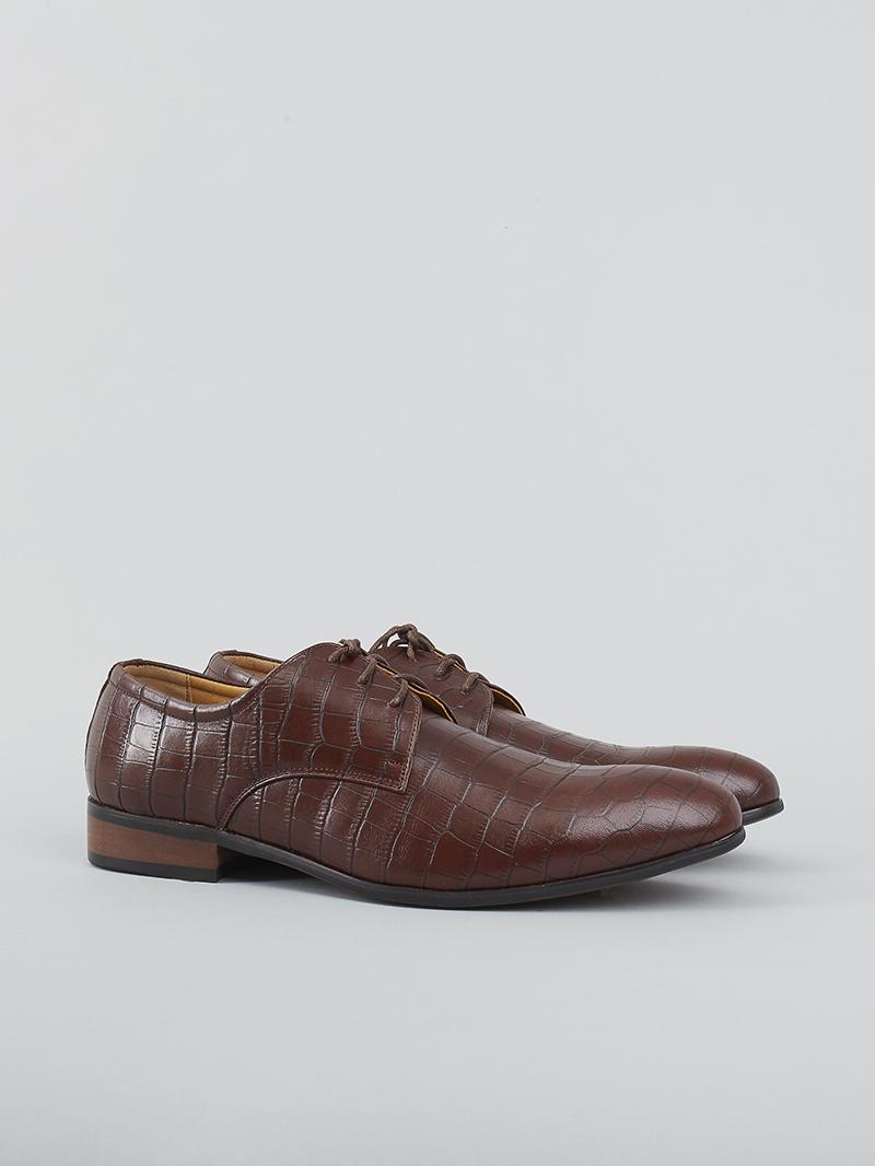 Giày tây da nâu g93 - 2
