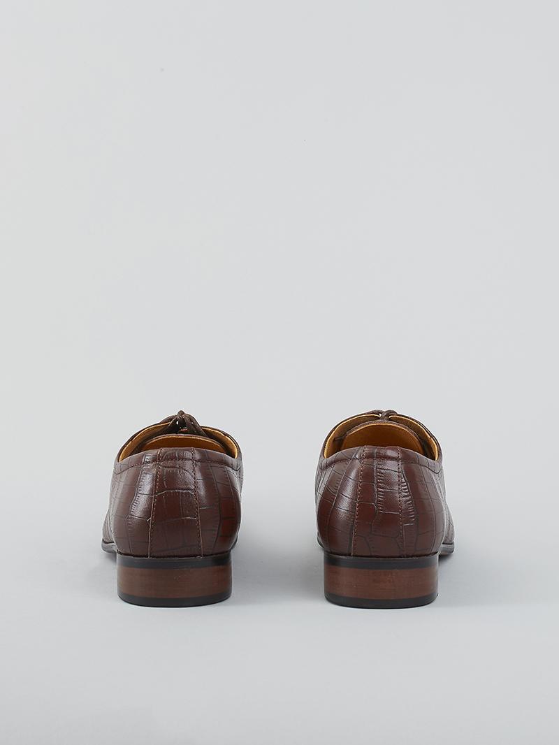 Giày tây da nâu g93 - 3