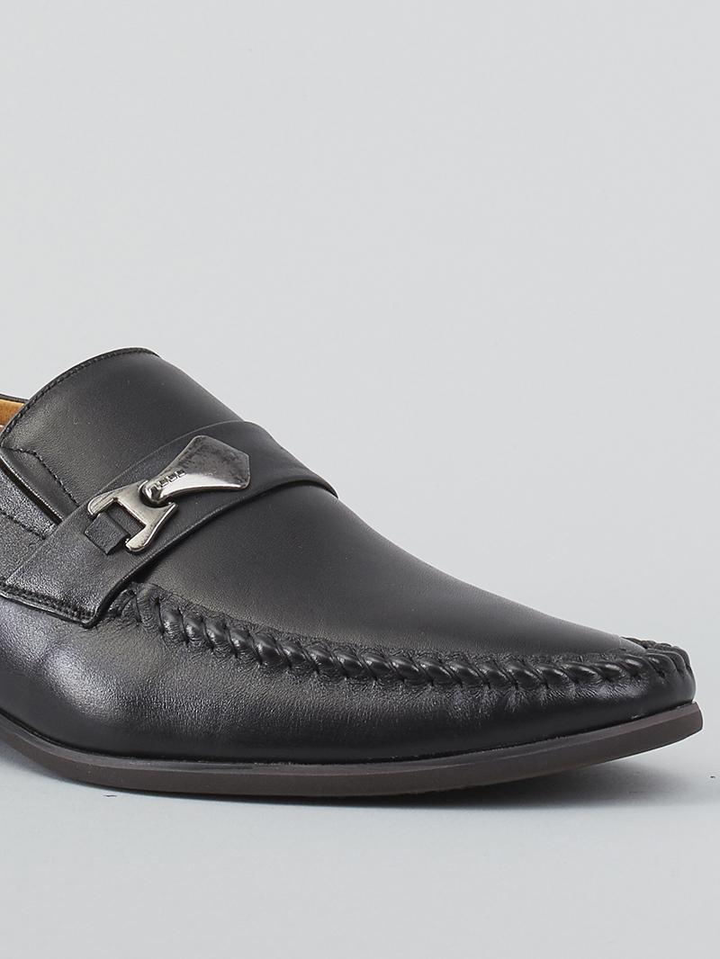 Giày tây đen g125 - 4