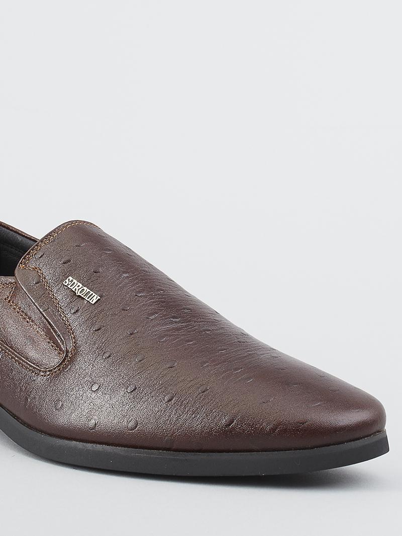 Giày tây nâu g116 - 4