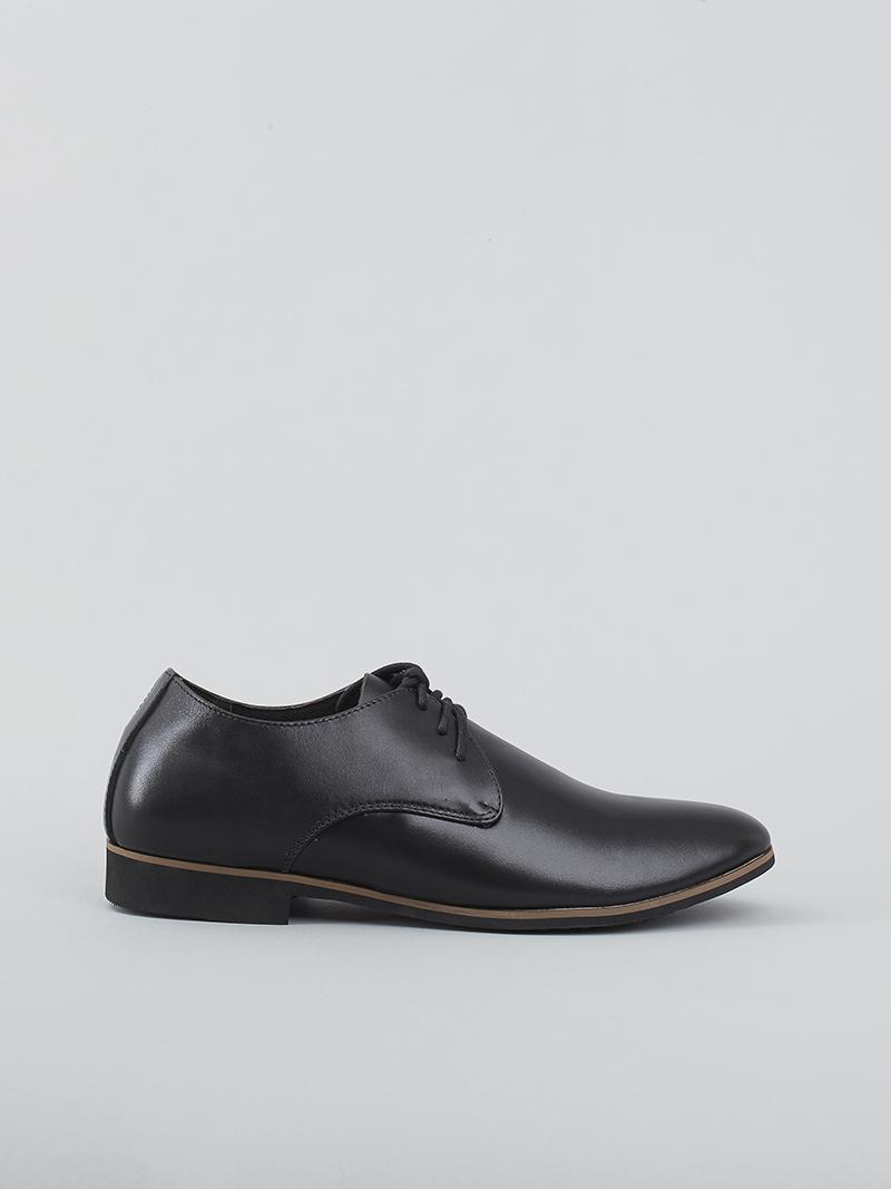 Giày tây tăng chiều cao đen g124 - 1