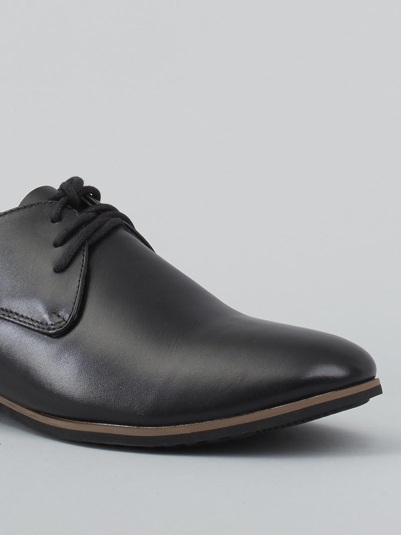 Giày tây tăng chiều cao đen g124 - 4