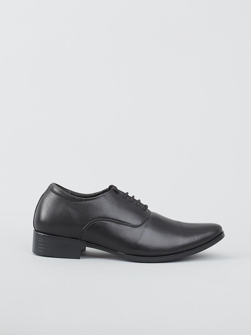 Giày tây tăng chiều cao đen g128 - 1