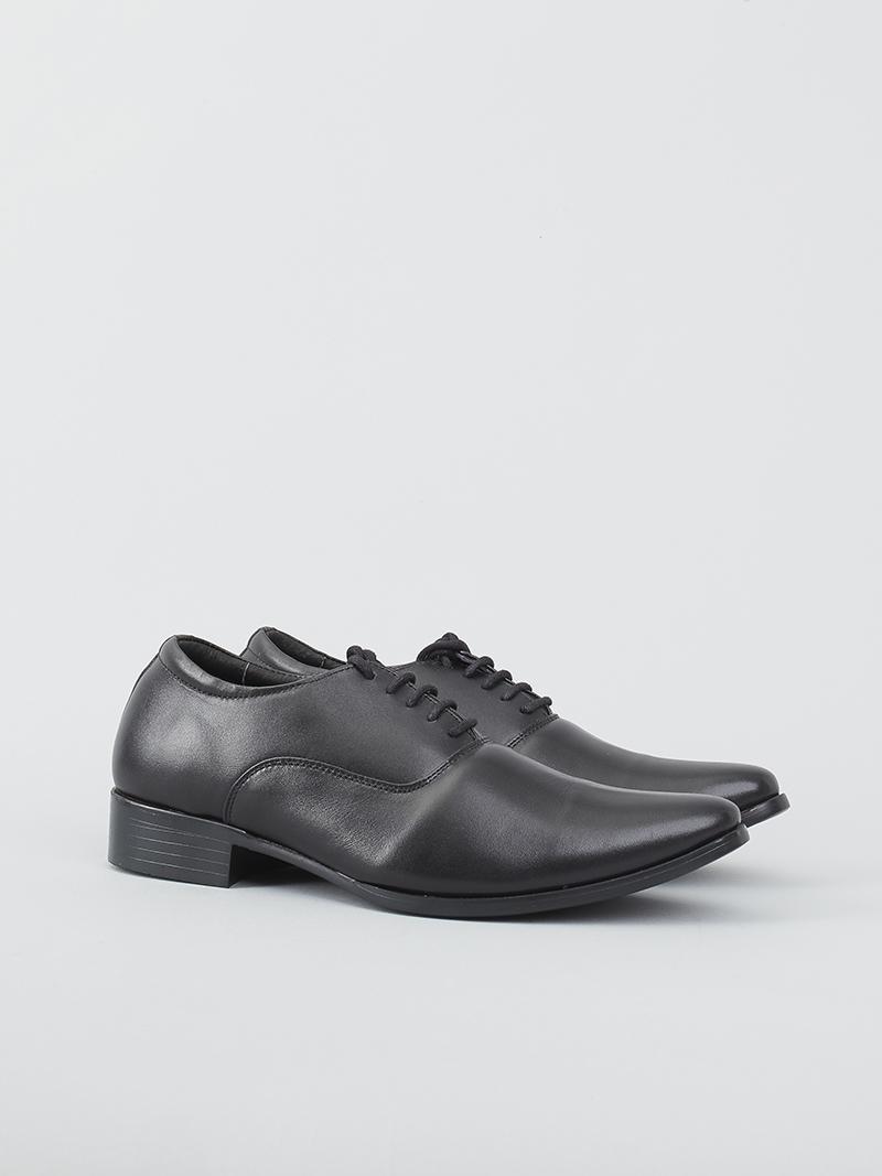 Giày tây tăng chiều cao đen g128 - 2