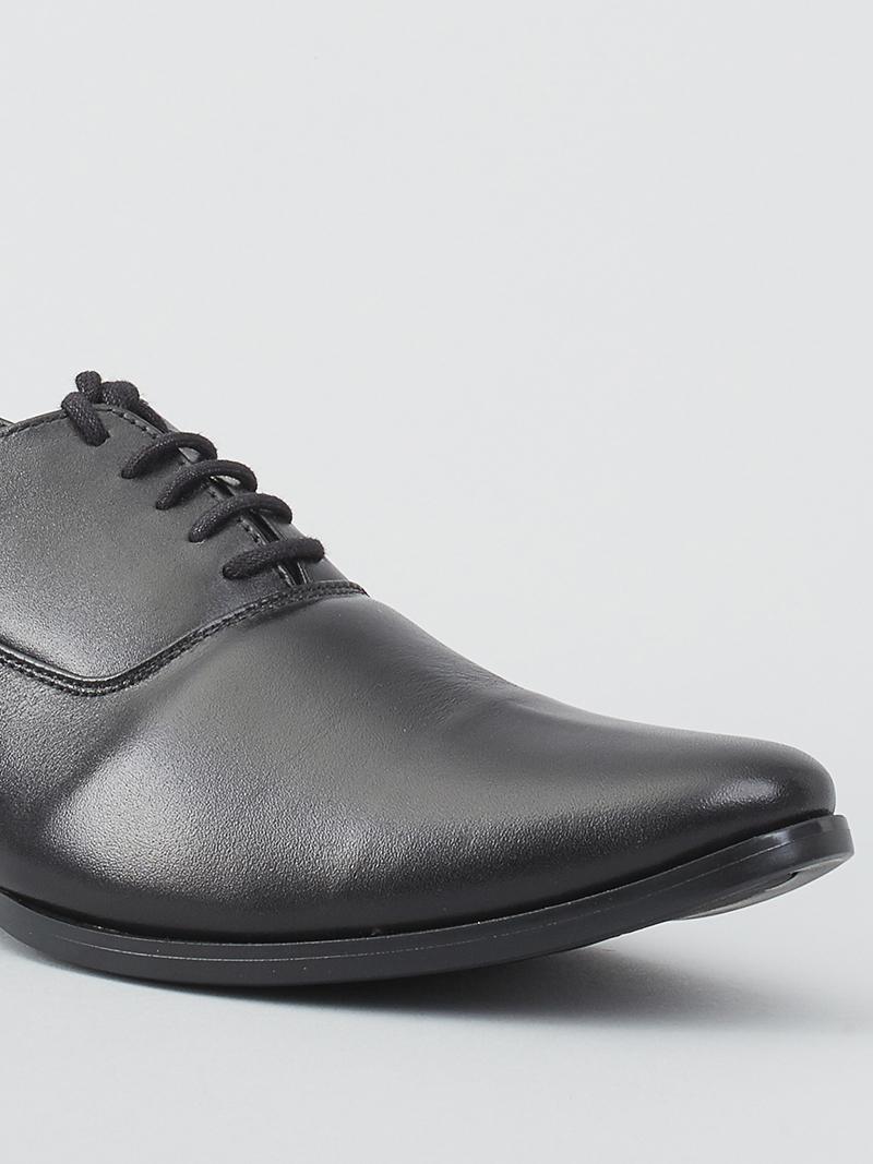Giày tây tăng chiều cao đen g128 - 4
