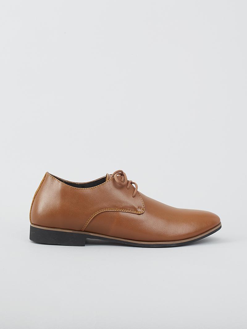 Giày tây tăng chiều cao màu bò g124 - 1