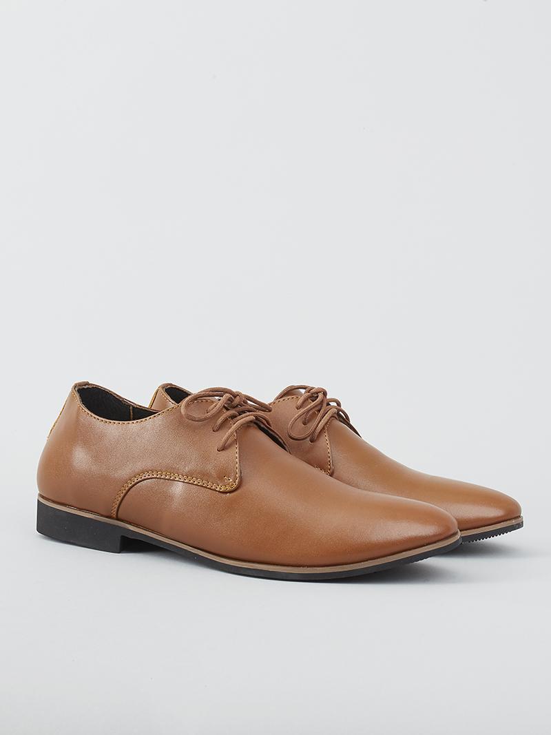 Giày tây tăng chiều cao màu bò g124 - 2