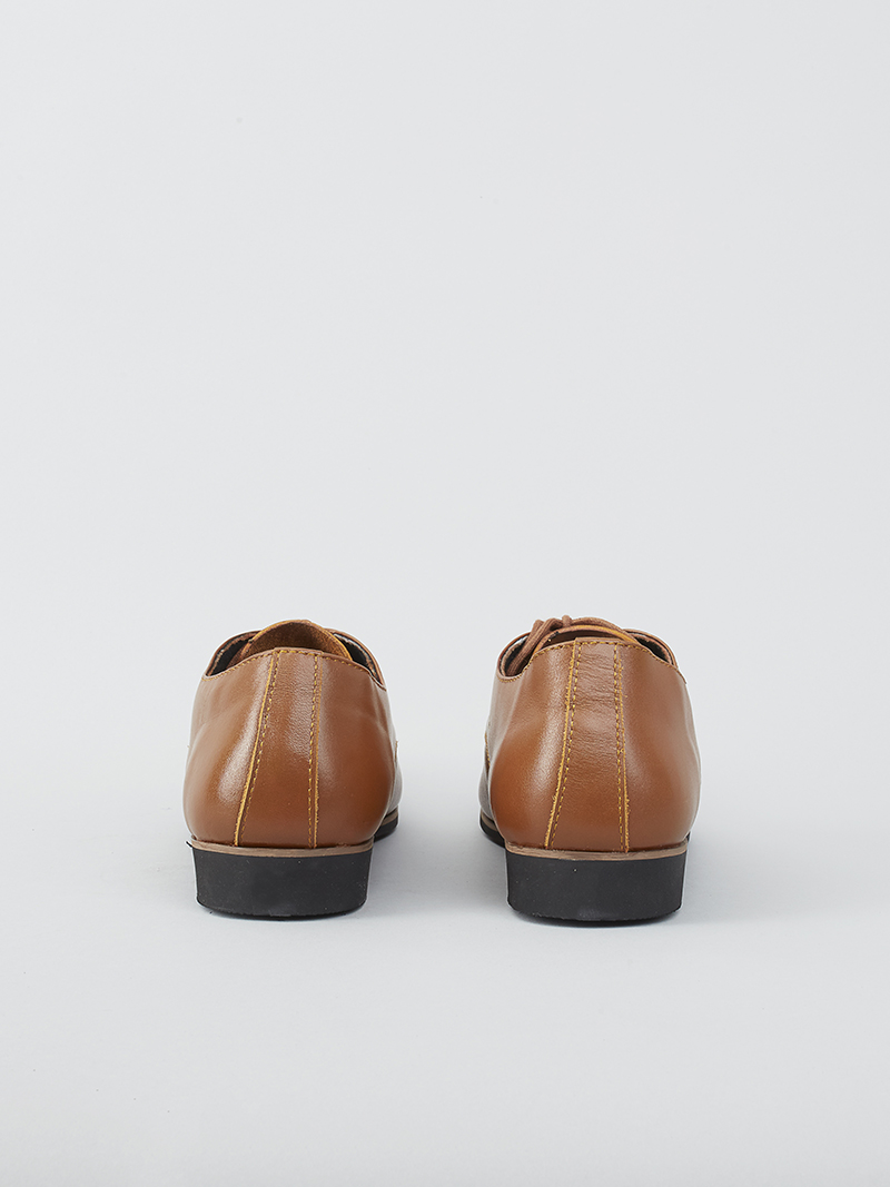 Giày tây tăng chiều cao màu bò g124 - 3