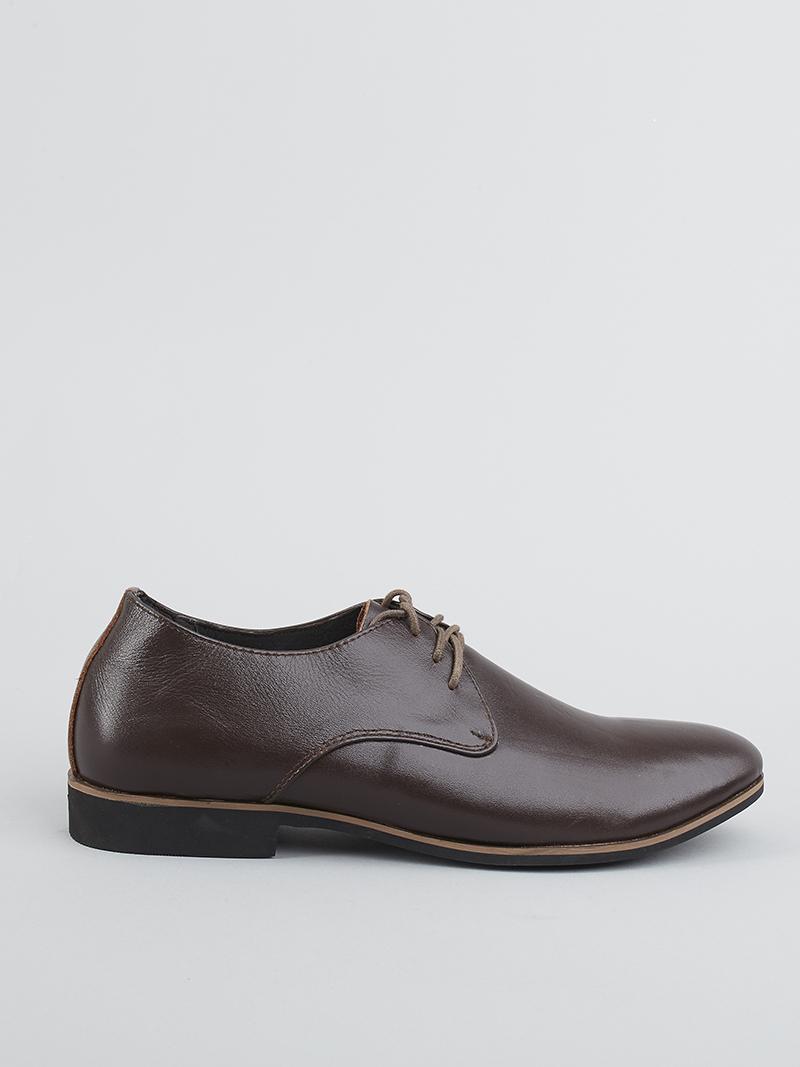 Giày tây tăng chiều cao nâu g124 - 1