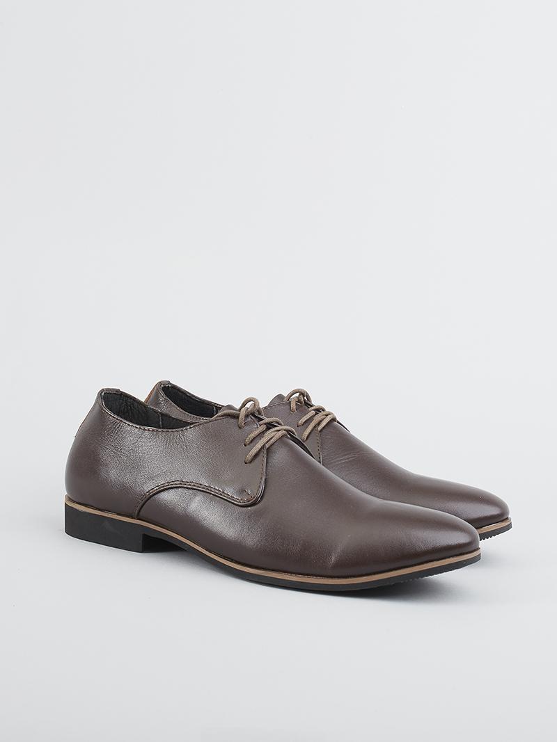 Giày tây tăng chiều cao nâu g124 - 2