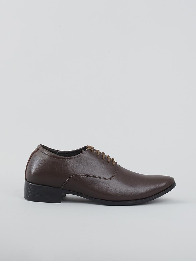 Giày tây tăng chiều cao nâu g128 - 1