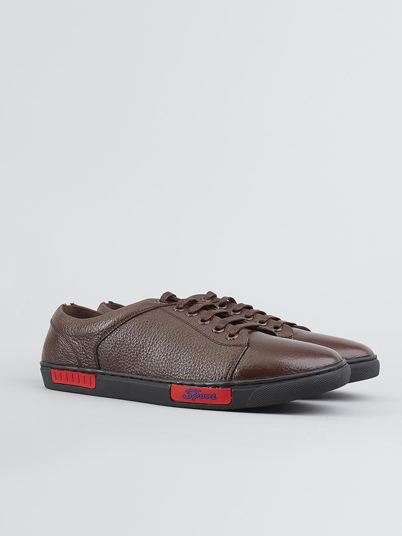 Giày thể thao màu nâu g136 - 2