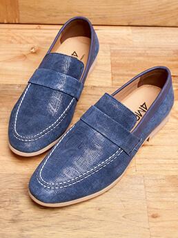 Giày Mọi Da Xanh G94