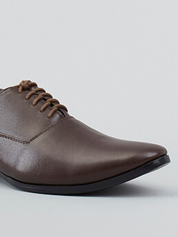 Giày Tây Tăng Chiều Cao Nâu G128