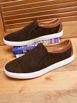 Giày Mọi Da Lộn Nâu G96