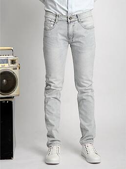 Quần Jeans Ống Đứng Bạc QJ1524