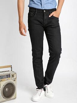 Quần Jeans Ống Đứng Đen QJ1527