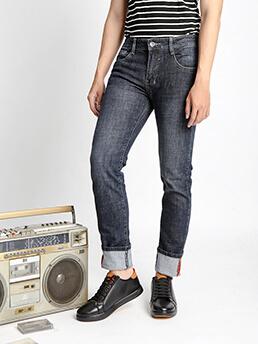 Quần Jeans Ống Đứng Xanh Đen QJ1524