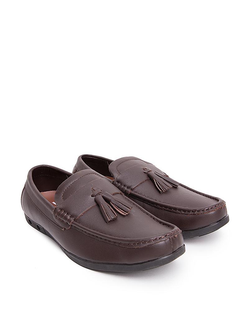 Giày Mọi Màu Nâu G168