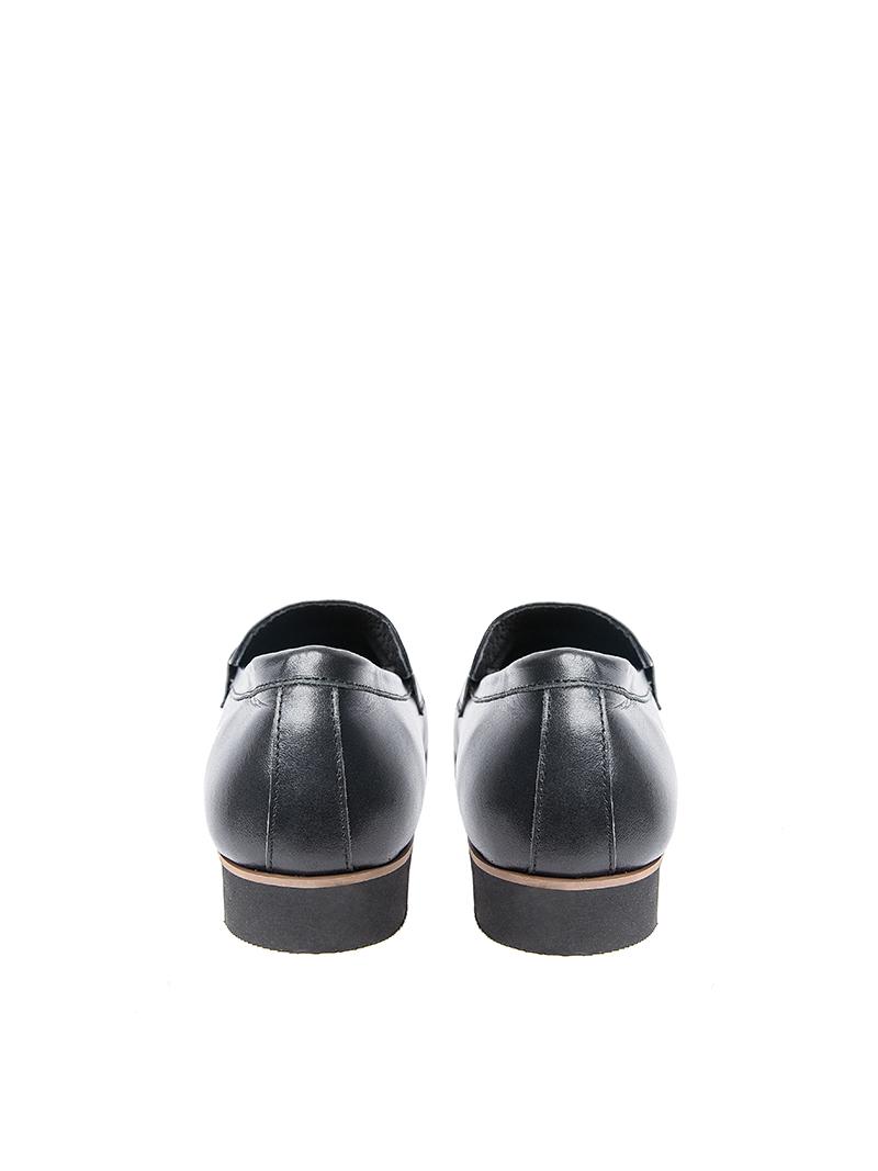 Giày tây tăng chiều cao đen g123 - 3
