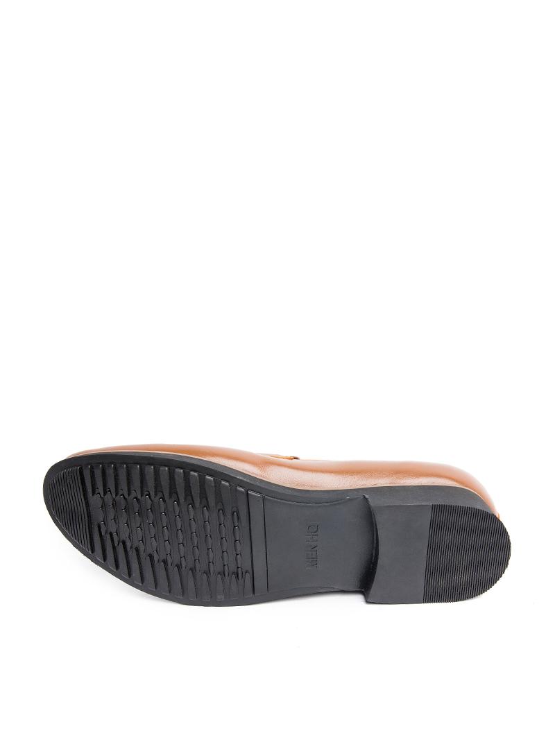 Giày tây tăng chiều cao màu bò g123 - 2