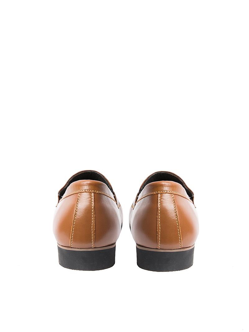 Giày tây tăng chiều cao màu bò g123 - 3
