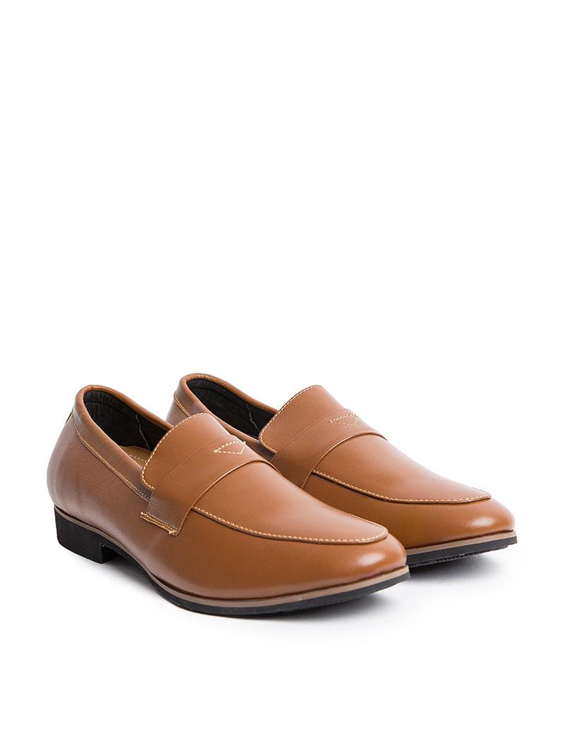 Giày Tây Tăng Chiều Cao Màu Bò G123