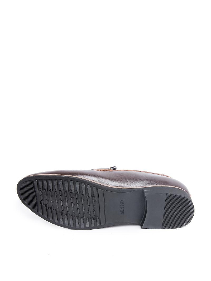 Giày tây tăng chiều cao nâu g123 - 2