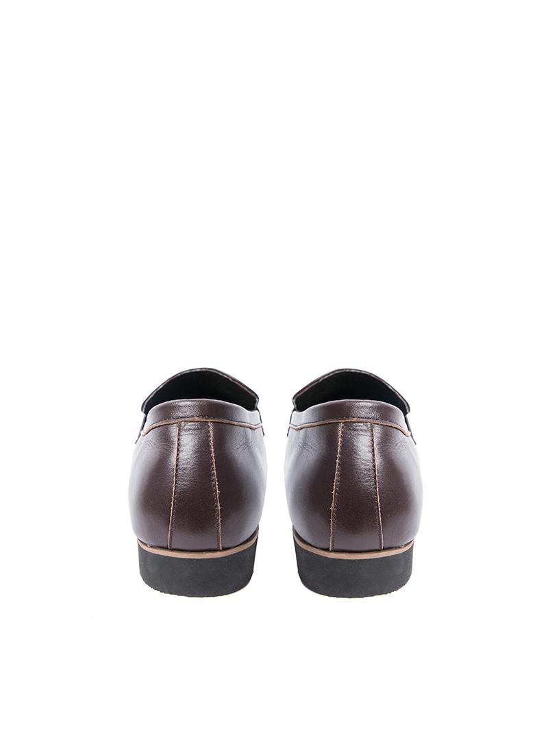 Giày tây tăng chiều cao nâu g123 - 3
