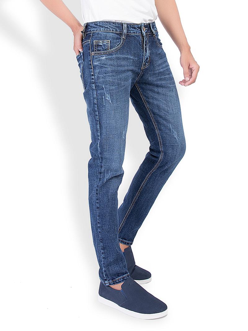 Quần Jeans Skinny Xanh Đen QJ1537