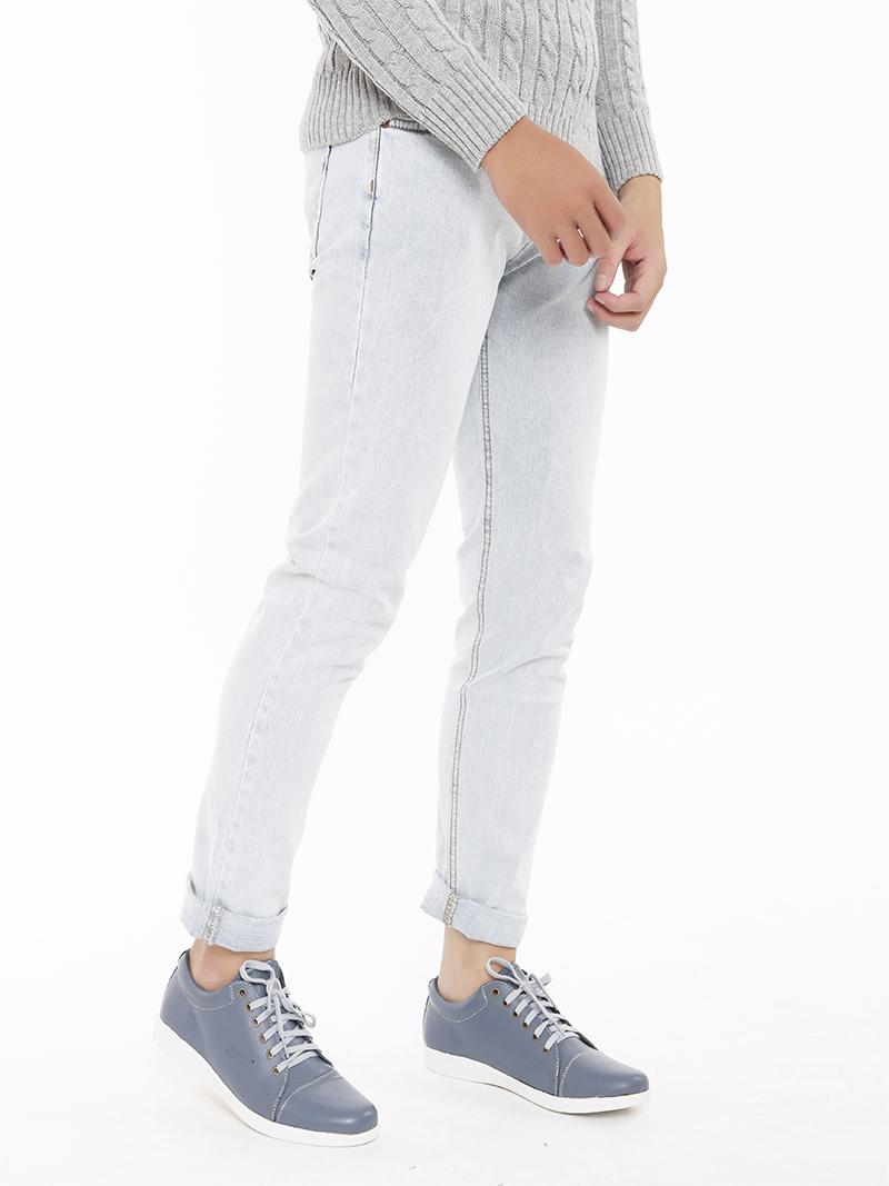Quần Jeans Skinny Bạc QJ1544