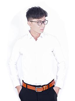 Áo Sơ Mi Hàn Quốc Trắng ASM952