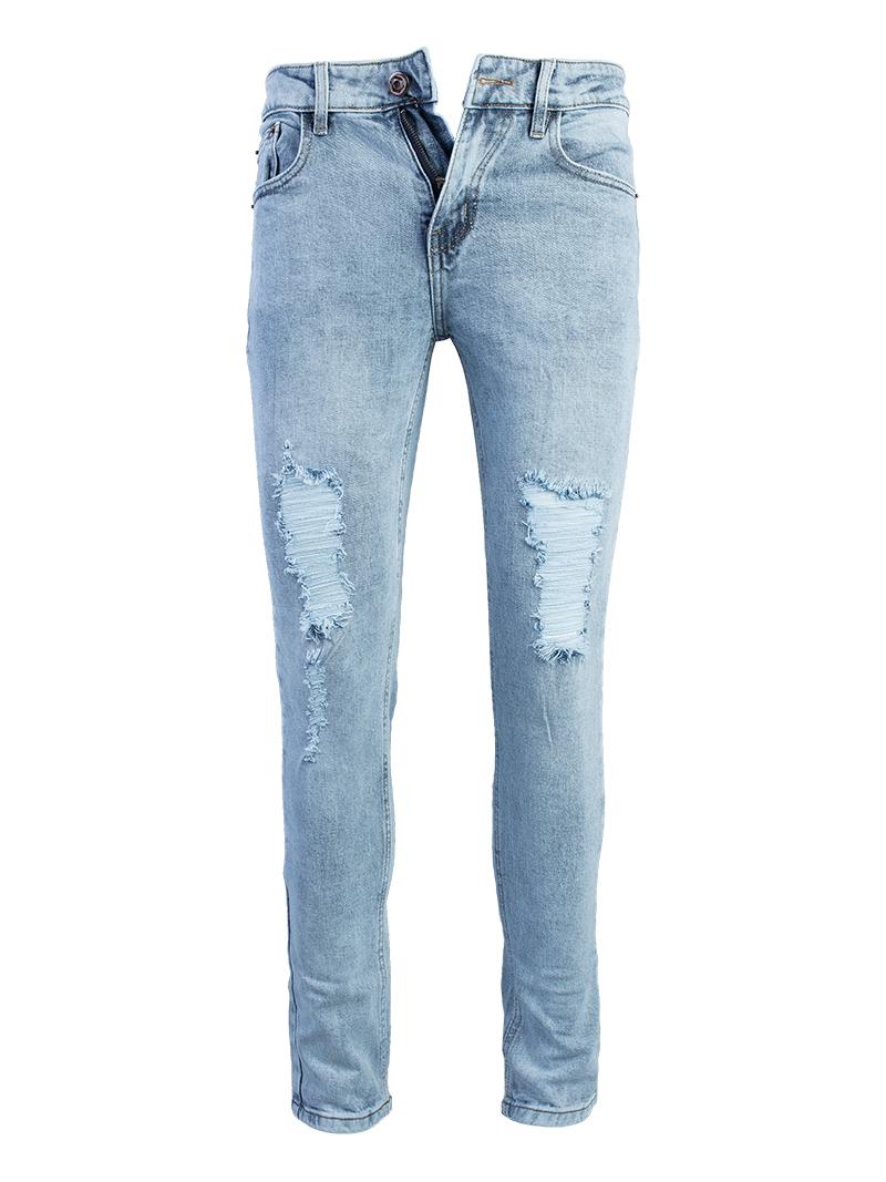 Quần Jeans Rách Xanh QJ1562