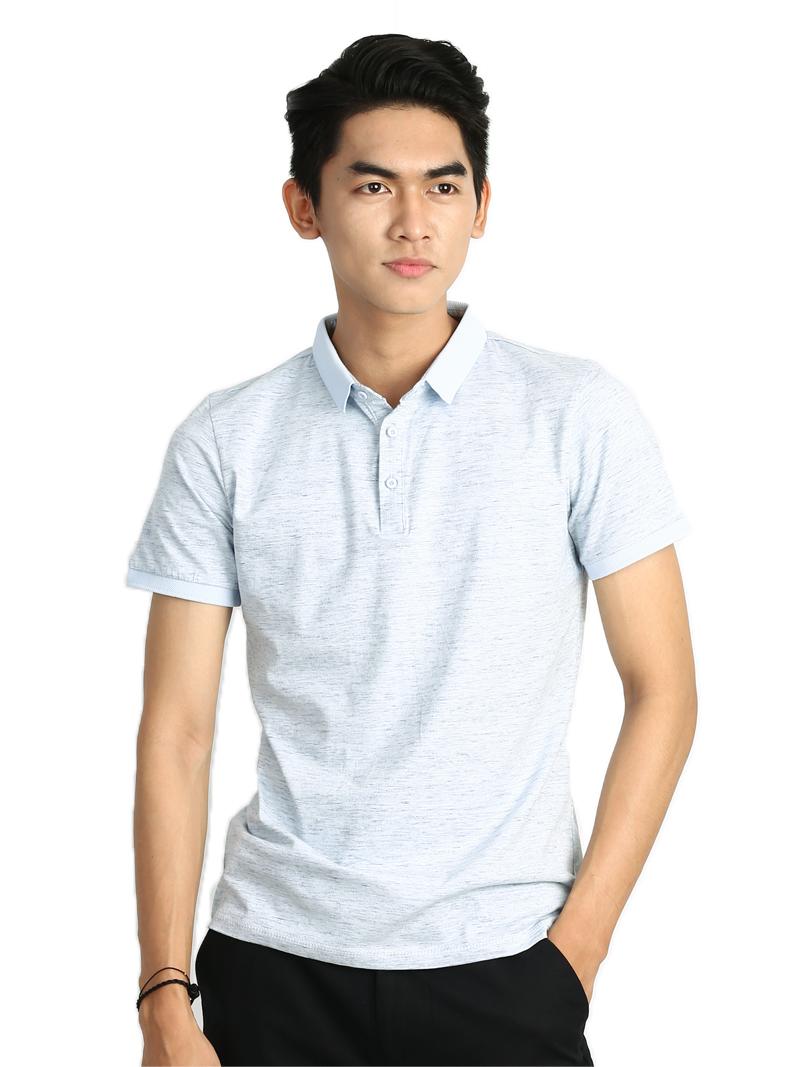Ao Thun Co Co Xanh Lam AT773