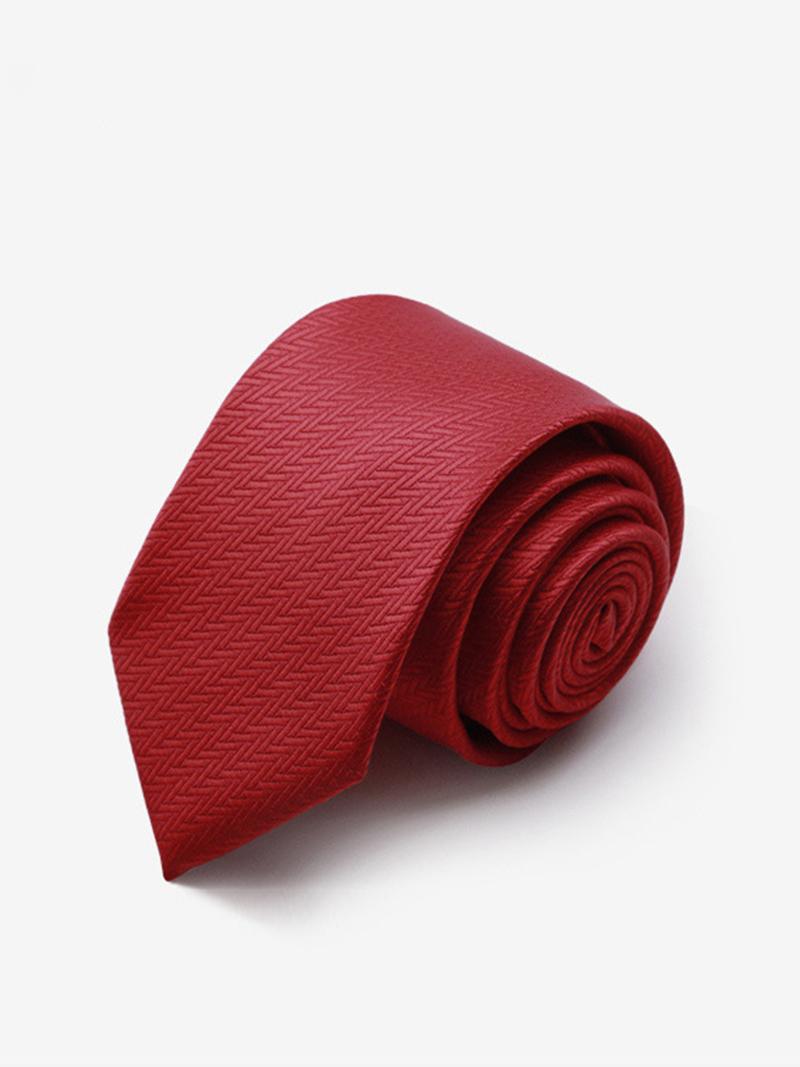 Cà Vạt Hàn Quốc Đỏ CV167