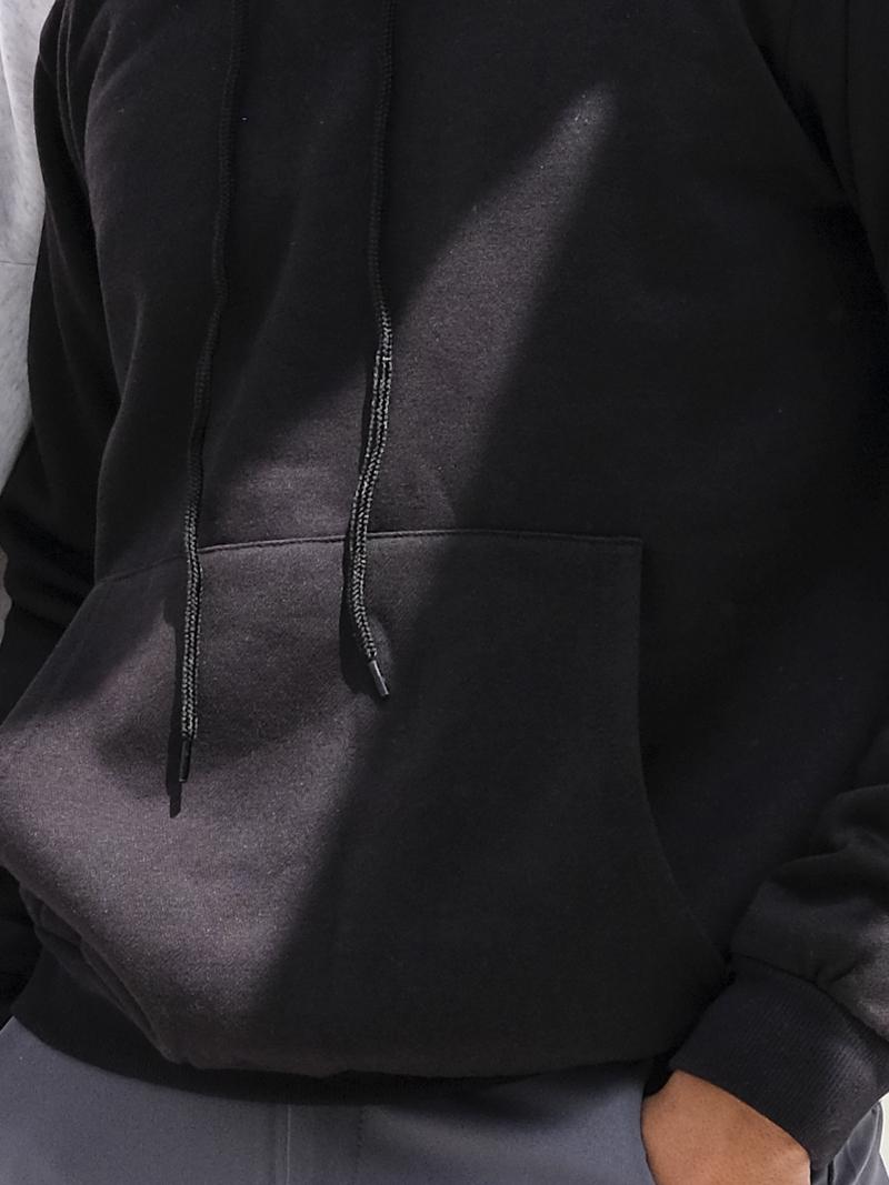 Áo Khoác Hoodie Đen AK242