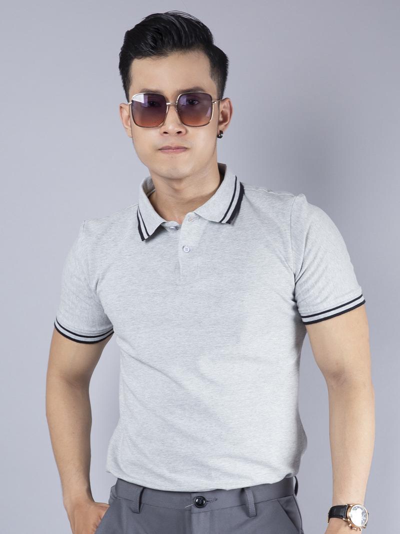 Ao Thun Co Co Xam AT780