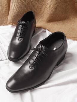 Giày Tăng Chiều Cao Đen G203