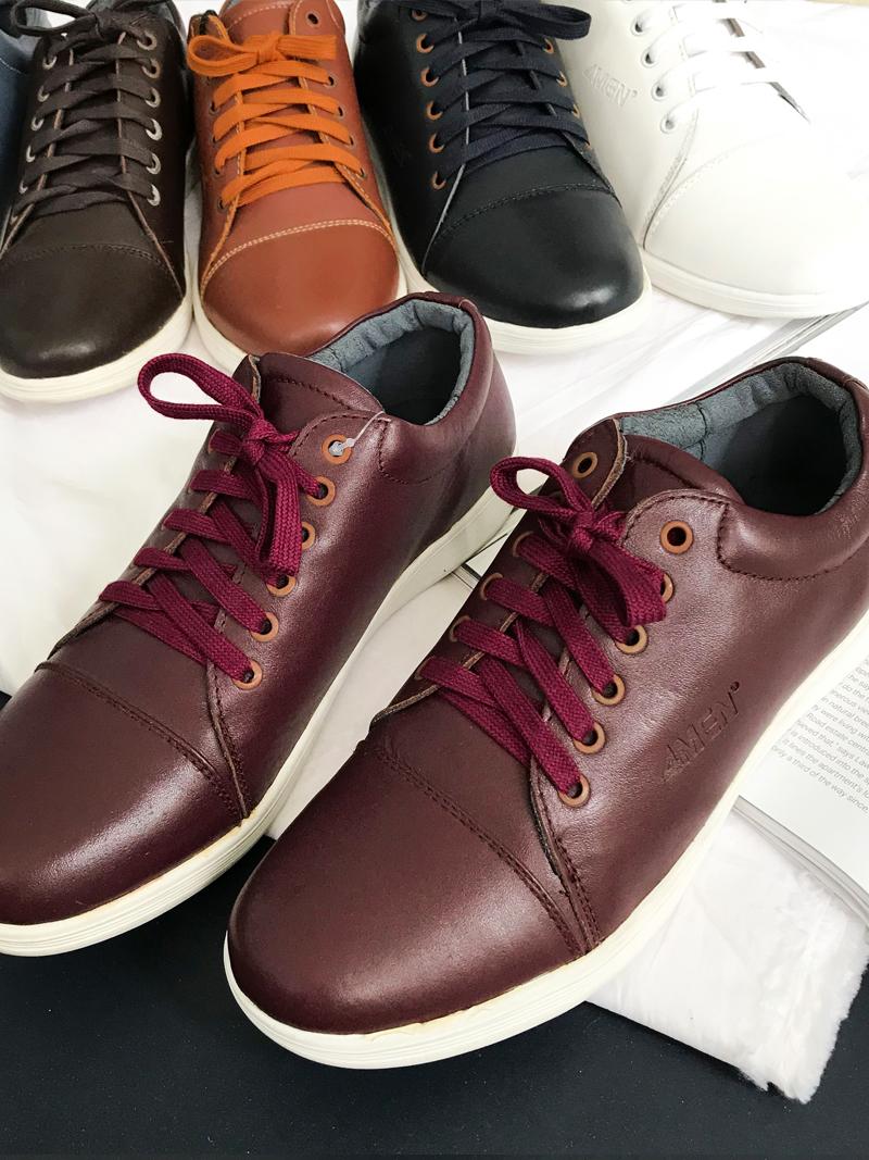 Giày Thể Thao Đỏ Đô G169