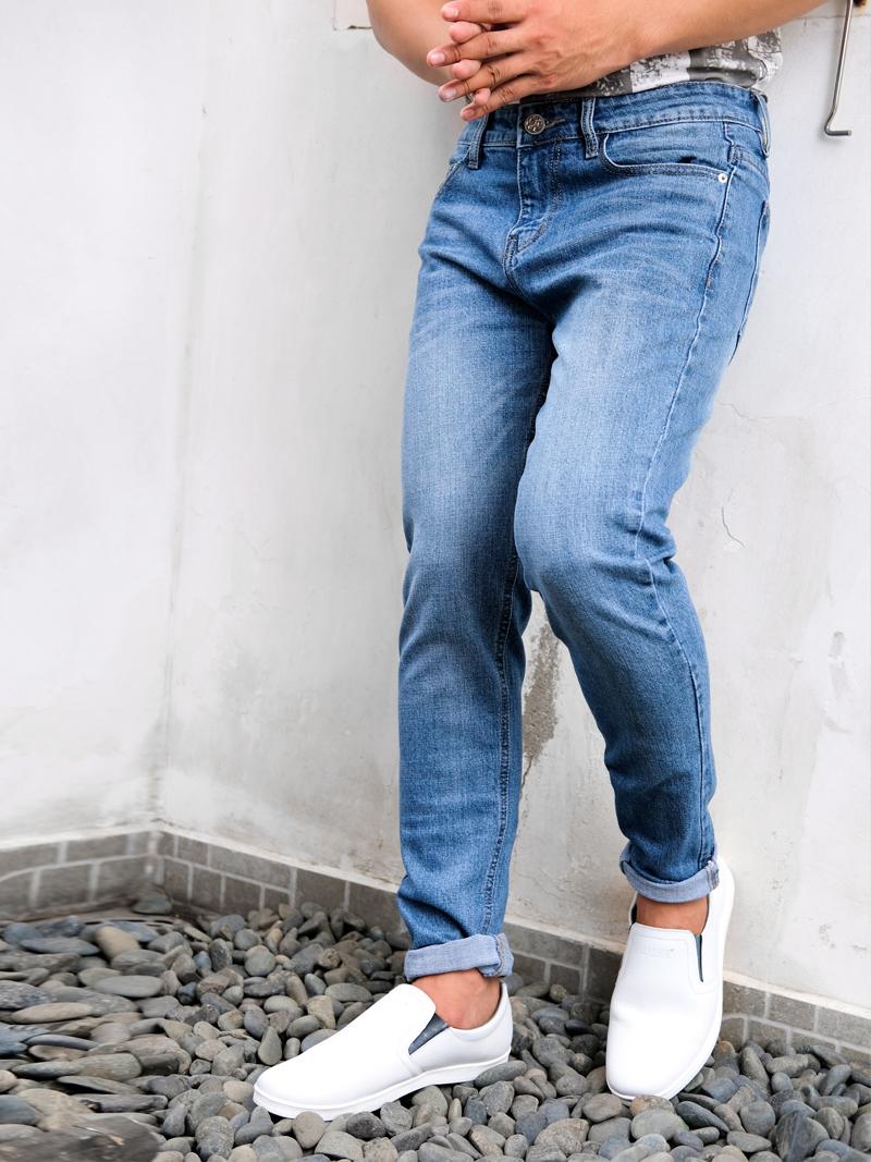 Quần Jeans Skinny Xanh Dương QJ1592