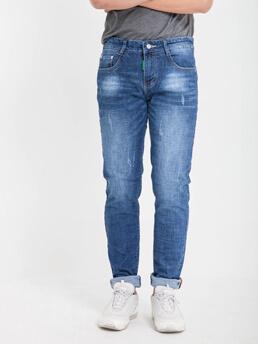 Quần Jeans Skinny Xanh Đen QJ1612