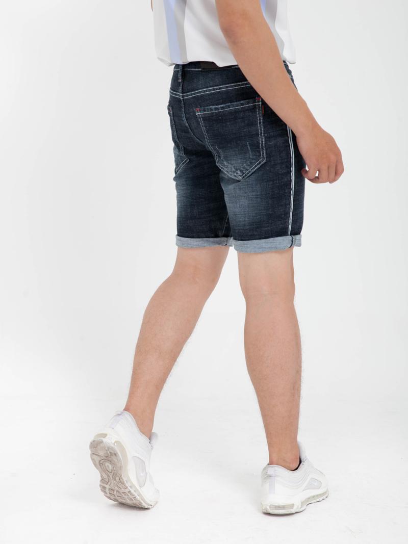 Quần Short Jean Xanh Đen QS158