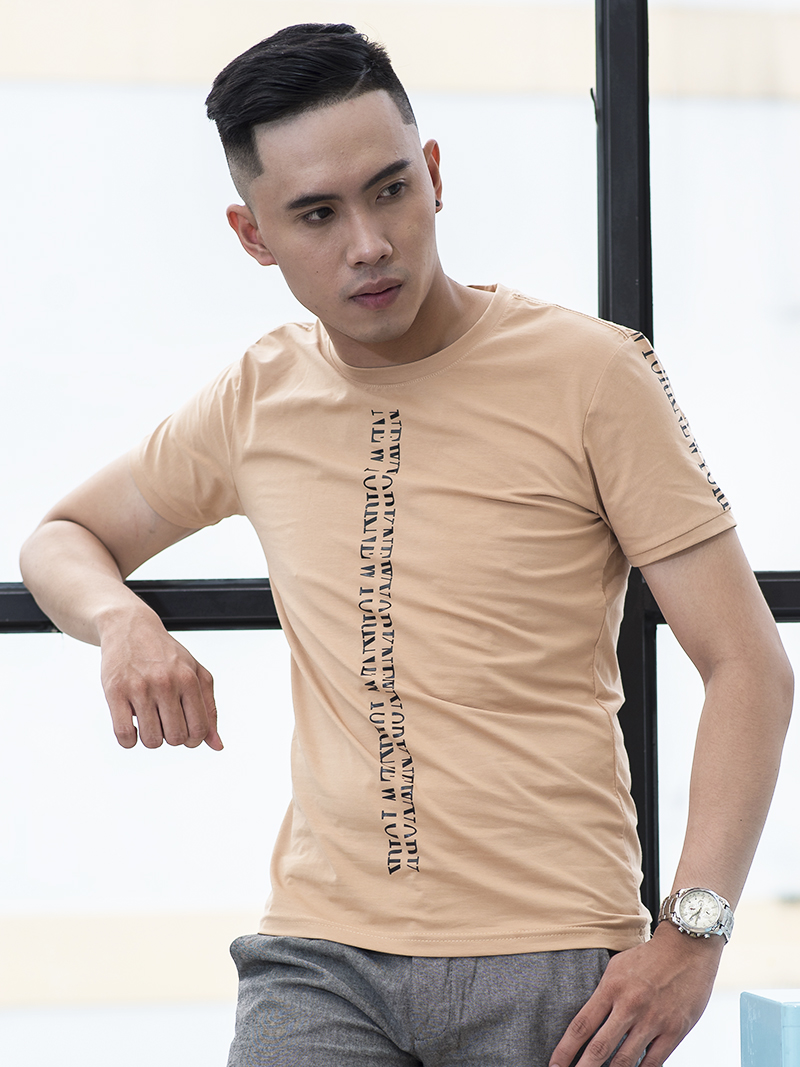Ao Thun Mau Ca Phe AT787