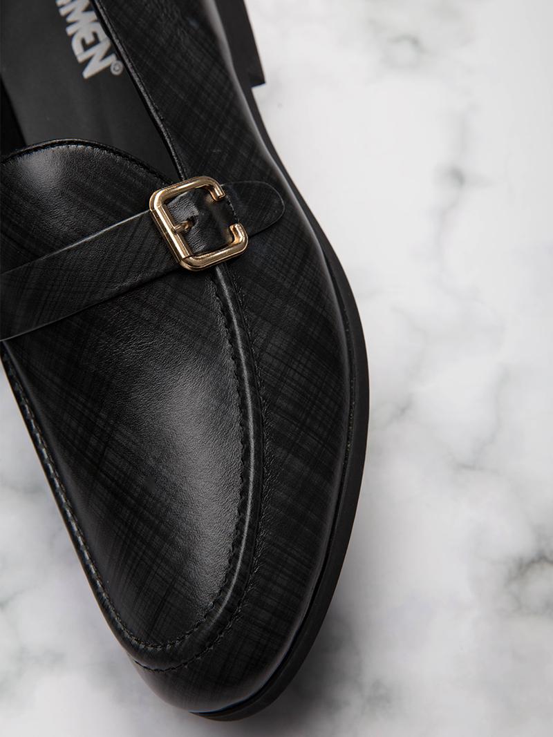 Giày Tăng Chiều Cao Đen G206