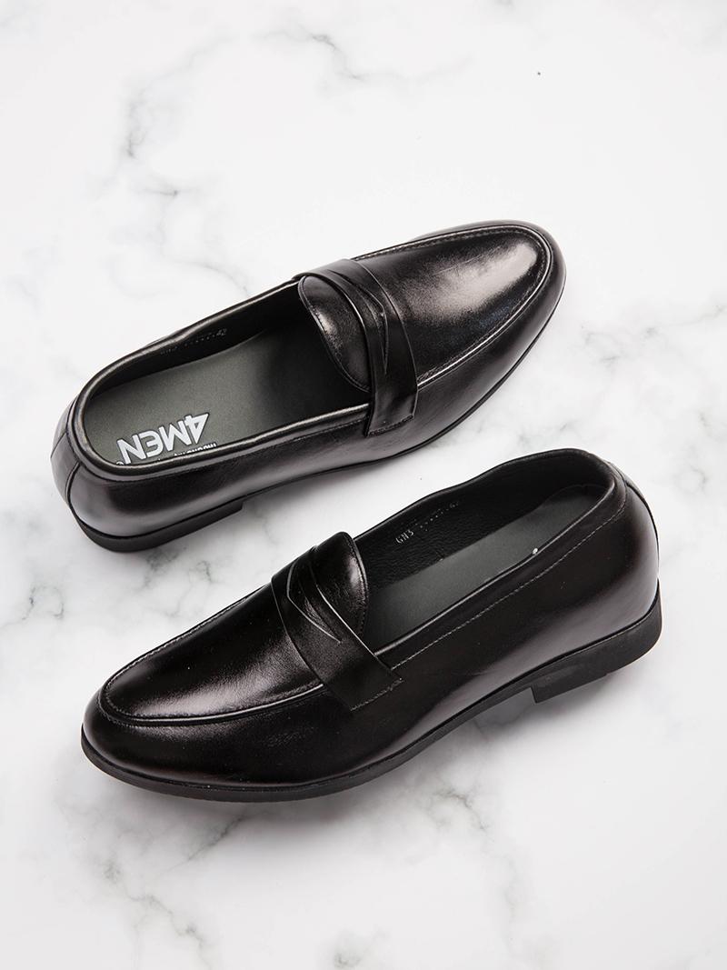 Giày Tăng Chiều Cao Đen G204