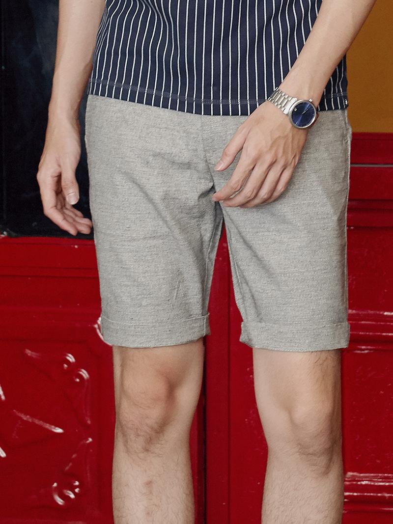 Quần Short Linen Xám Chuột QS168
