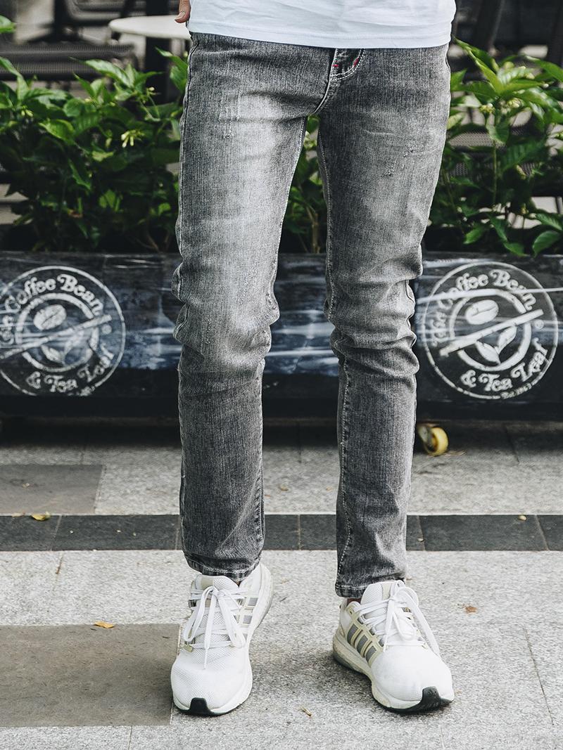Quần Jeans Slimfit Xám Chuột QJ1629